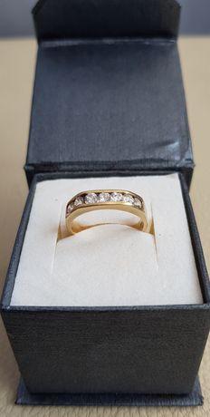 Złoty pierścionek 585 14 K