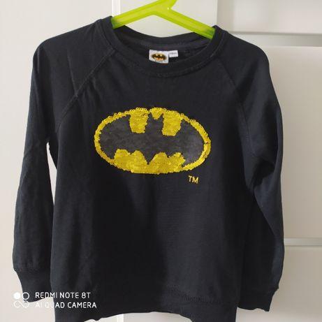 T-shirt/Bluzka z cekinowym motywem Batmana, Cool Club rozm.116