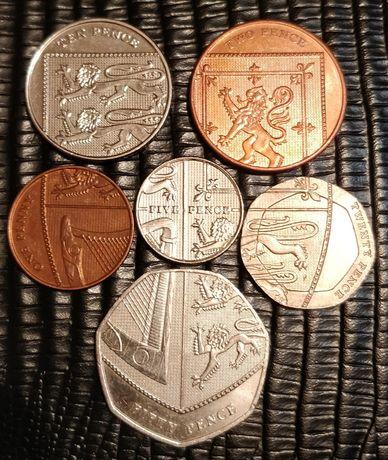 Британский щит из монет (Английский щит).