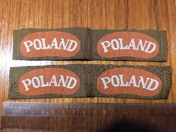 II WOJNA ŚWIATOWA - 2x Oryginalne komplety / 2x pary łuczki POLAND PSZ