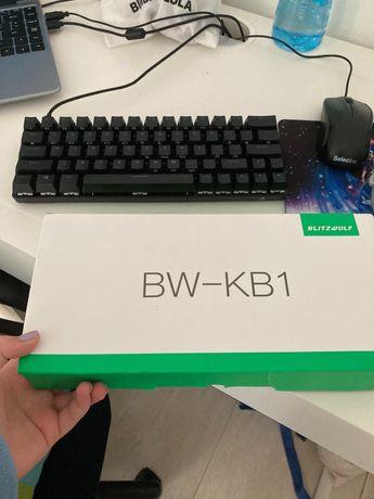 Teclado BW-KB1 Preto mecânico