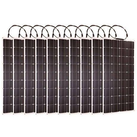 Painel Solar 12v Flexivel portátil de 100 watts.