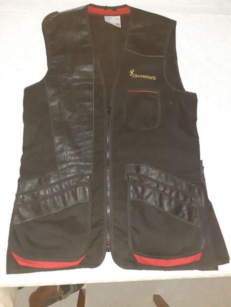 Colete de tiro e camisa sarja cintada BROWNING
