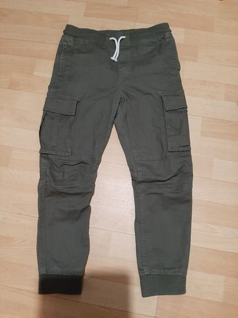 Spodnie jogersy h&m 152
