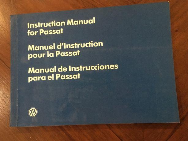 Manual Instruções VW Passat
