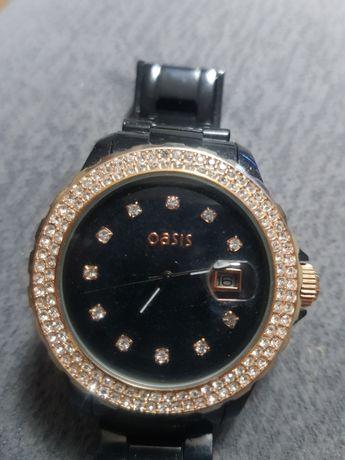 Zegarek damski czarny Oasis