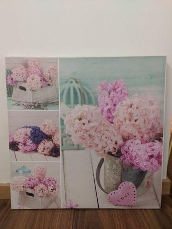 telas florais vintage
