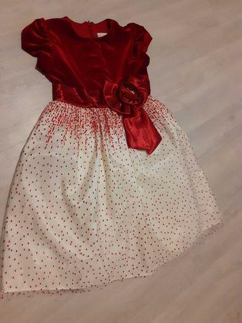 Sukienka świąteczna 116