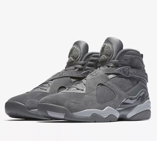 Jordan 8 Retro Cool Grey US10