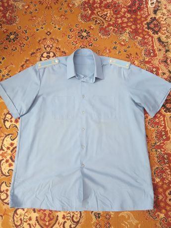 Форменная рубашка железнодорожная