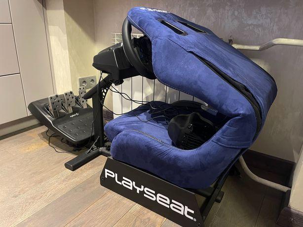 Logitech G29 Playseat Evolution Игровое кресло, Симулятор, Руль