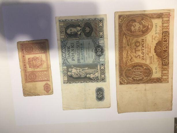 Sprzedam zamienię banknoty międzywojenne
