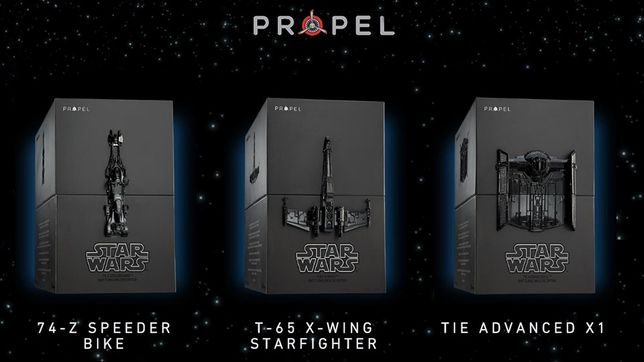 2 drony Star Wars-Propel-Battle Collectors Box/edycje kolekcjonerskie