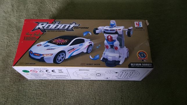 Samochód, robot, transformers