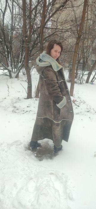 Шуба натуральный мех Горбани - изображение 1