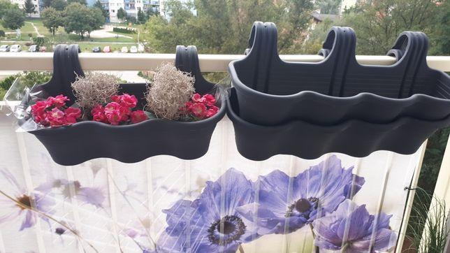 Doniczki skrzynki balkonowe