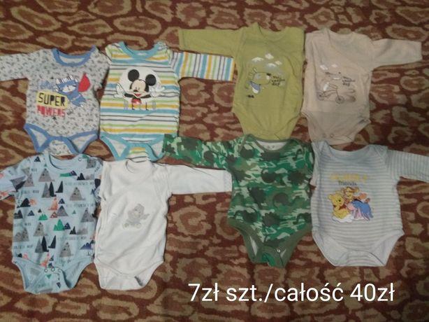 Sprzedam body niemowlęce 11 szt. 56-68