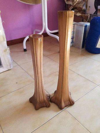 Jarras de Barro ( 40cm + 50cm ) - NOVAS - FECHO DE LOJA