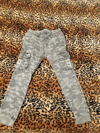 Джинсы-брюки хаки