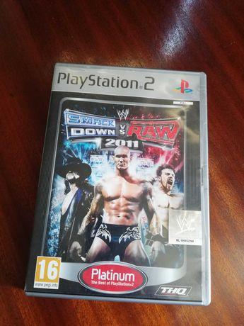 Jogo PS 2 - jogo de luta - SMACK Down VS Raw 2011