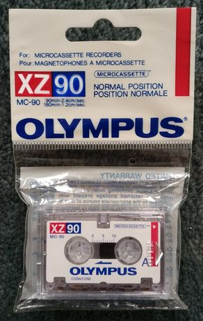 MC-90 OLYMPUS Microcassette XZ90 mikrokaseta