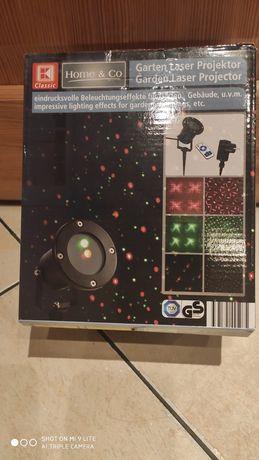 Ogrodowy projektor laserowy