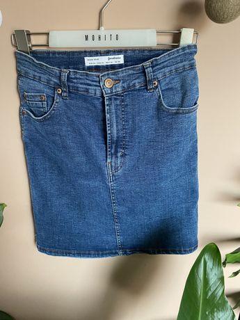 Spódnica jeansowa krótka