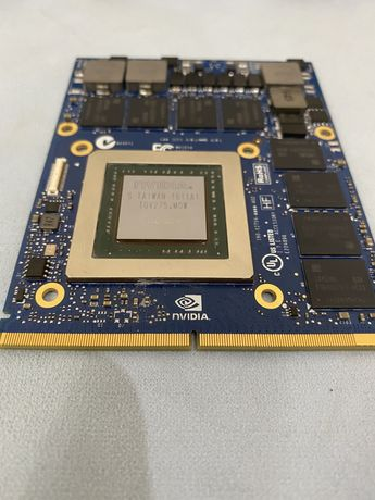 NVIDIA gtx980m GDDR5 8 GB для ноутбука