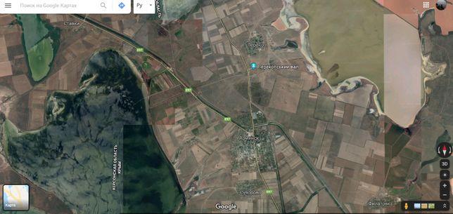 Продам землю в Крыму в районе Армянска.