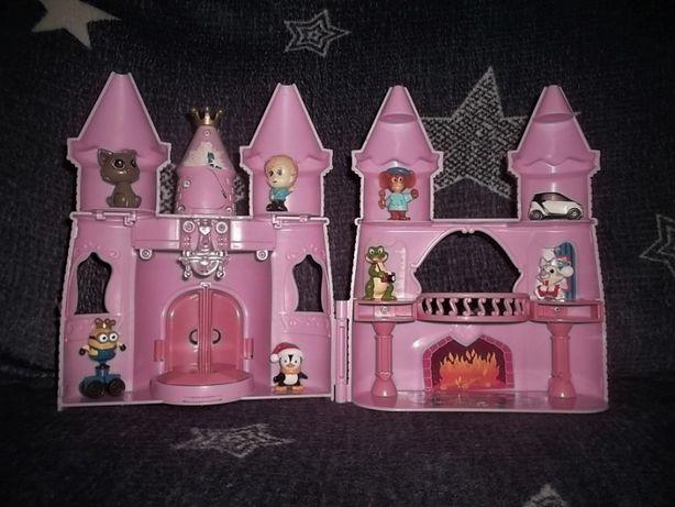 Игрушечный Замок домик светится