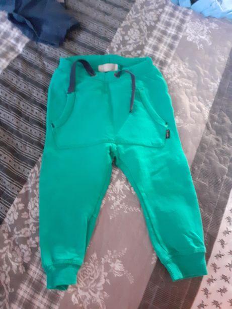 Spodnie roz 74