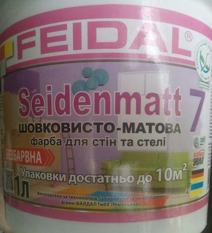 Краска для стен и потолка Feidal
