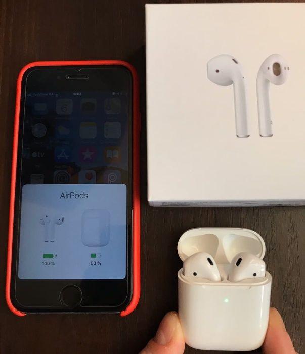 Apple Airpods 2 / Как новые / БУ Киев - изображение 1