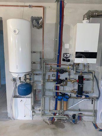 Usługi hydrauliczne! Wod-kan, ogrzewanie podłogowe, pompy ciepła.