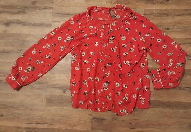 Красная блузка, червона блузка, кофточка, рубашка