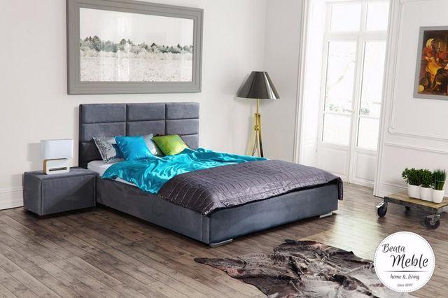 Łóżka do sypialni na wymiar PRODUCENT BEATA- MEBLE łóżko Vincent
