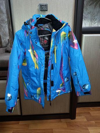Термо курточка и штаны для девочки, термокостюм