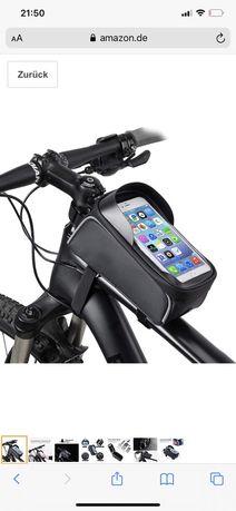 Велосумка, телефон, на раму, сумка для велосипеда, чехол телефон