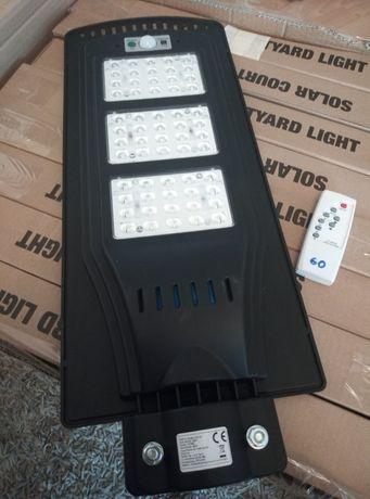 lampa solarna ogrodowa ledowa 60W
