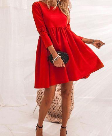 Плаття червоне )