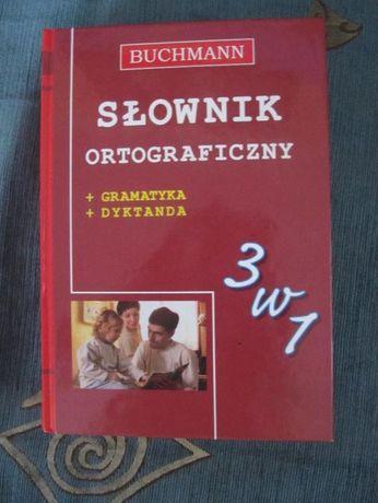Słownik ortograficzny +gramatyka+dyktanda