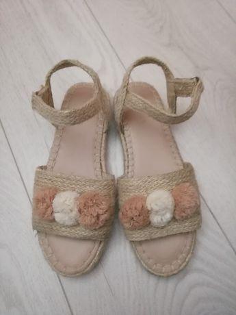 Sandały Zara rozmiar 35