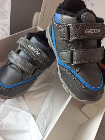 Buty chłopięce Geox rozmiar 21 ocieplone wiosna