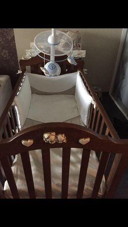 Детская кроватка+ комод Erbesi