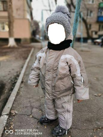 Продам детский зимний термо комплект, на возраст 1.5 - 2.5 года