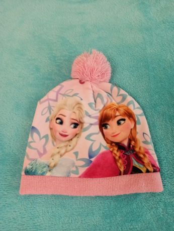 Демисезонная шапка для девочки 48-50