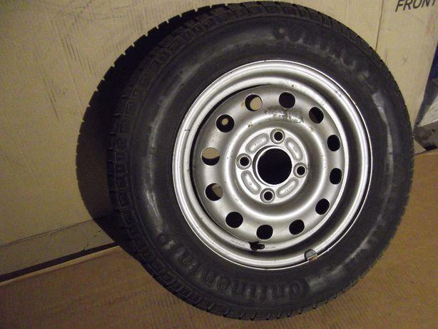 Koło stalowe FORD 4x108/13, Opona lato Continental 175/70R13 82T CT 22
