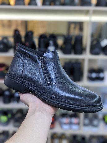 Ботинки зимние кожаные Rieker на мембране 41,44  размера Оригинал