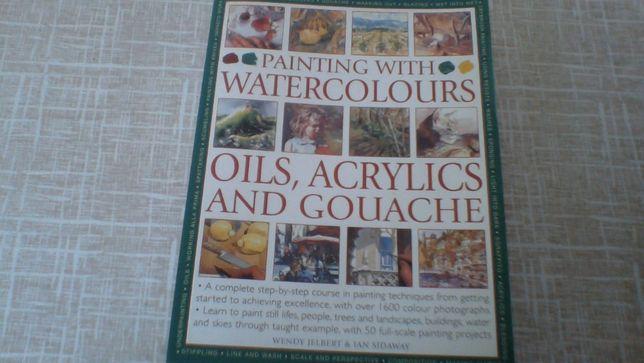 Livro de Pintura em Inglês. English
