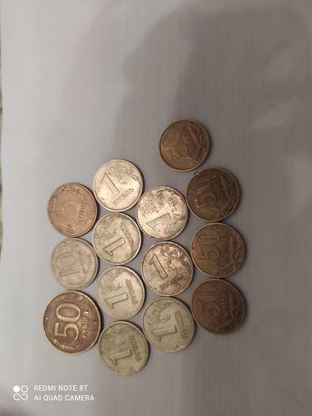 Монеты россия   .